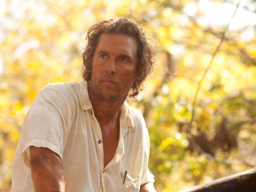 Matthew McConaughey stars as a man on the run from authorities in Jeff Nichols' <em>Mud.</em>