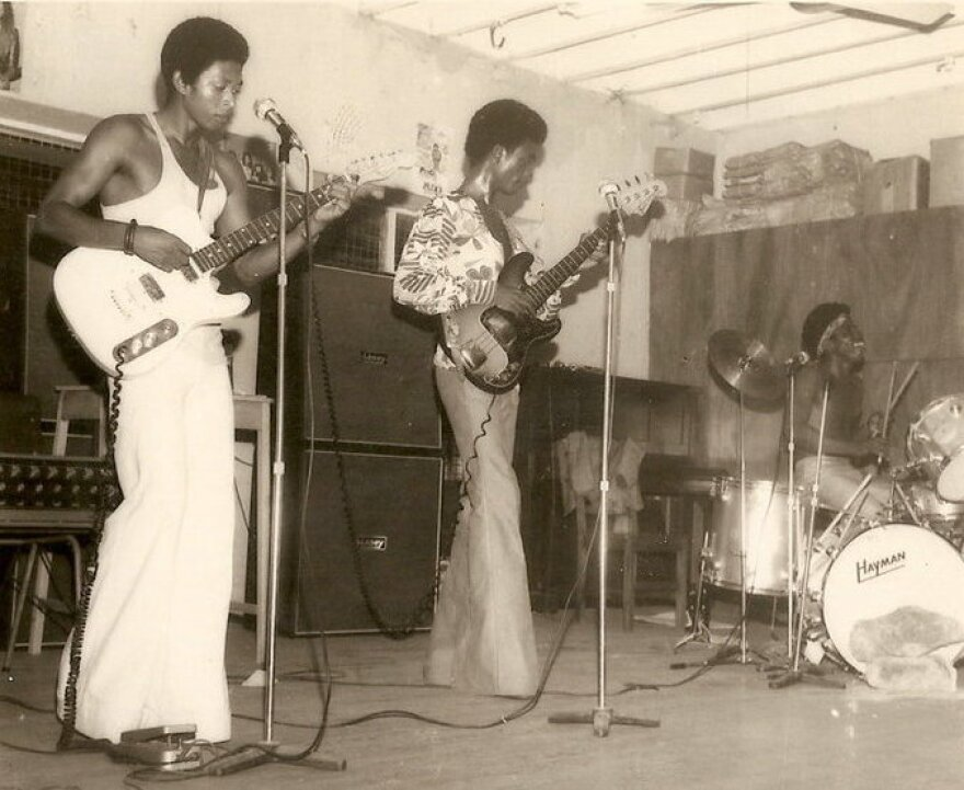 Warhead Constriction, a group of high-schoolers from Lagos, is one of many rock bands of the 1960s and '70s featured in the new book series <em>Wake Up You! The Rise and Fall of Nigerian Rock, 1972-1977</em>.