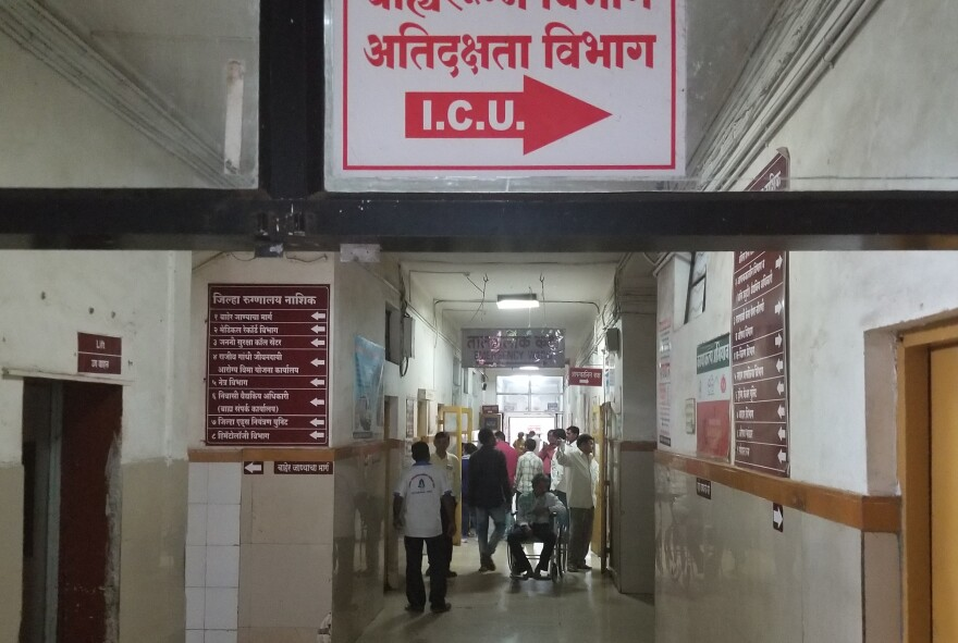 The Nashik Civil District Hospital is a government facility about 100 miles outside Mumbai. The director, Dr. Suresh Jagdale, acknowledges that the mortality rate is higher than that of private hospitals, but he says he's proud to offer free health treatment to India's poor.