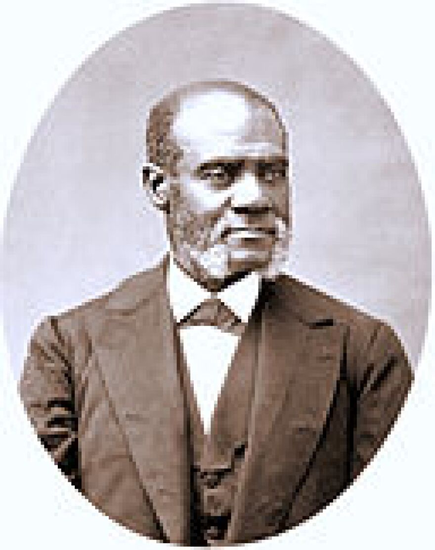Henry Highland Garnet, abolitionist pastor and advocate, spoke on the U.S. capitol in February, 1865.