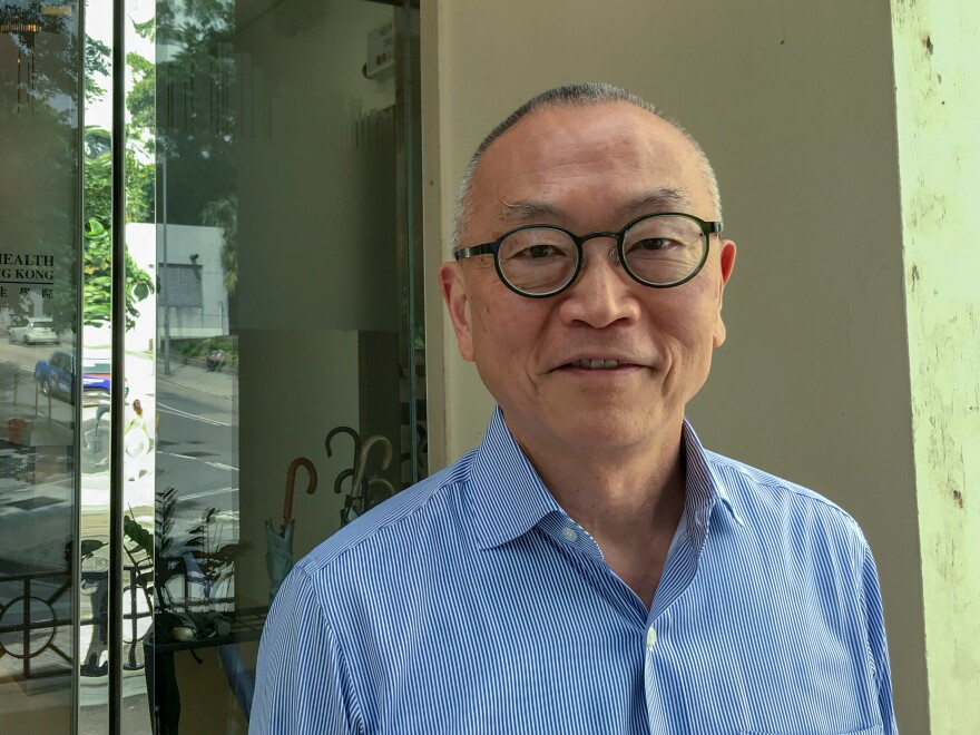 Keiji Fukuda, the head of the school of public health at the University of Hong Kong, says the city's efforts to contain imported cases of the coronavirus are working.