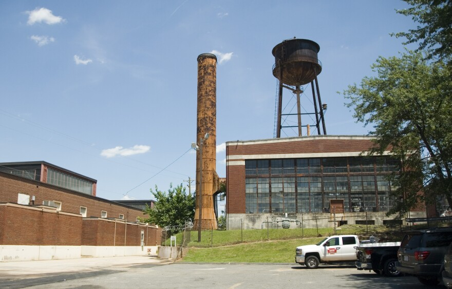 The old Hercules Industrial Park off Statesville Avenue is up for redevelopment.