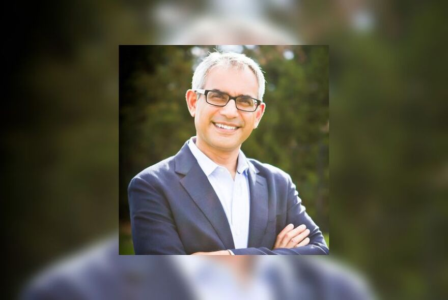 Southlake City Council member and Tarrant County Republican Party vice-chair Shahid Shafi.