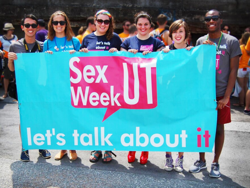 Organizers of the campus Sex Week event at the University of Tennessee, Knoxville.