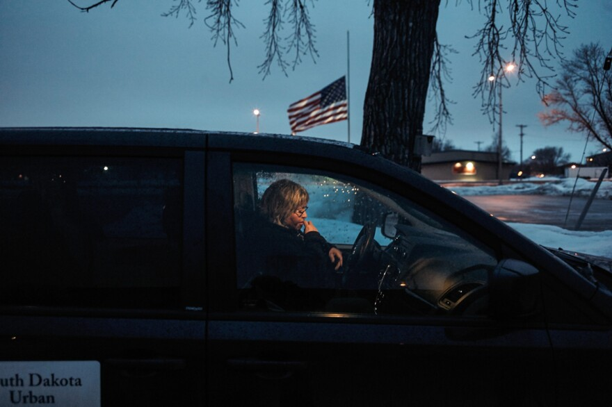Every Tuesday, Edie Hoff, an Urban Indian Health clinic nurse, drives over 100 miles from Sioux Falls, S.D., to Wagner, site of the nearest Indian Health Service clinic. She picks up free medicine for Native Americans who are still registered as residents of the reservation but live in Sioux Falls.