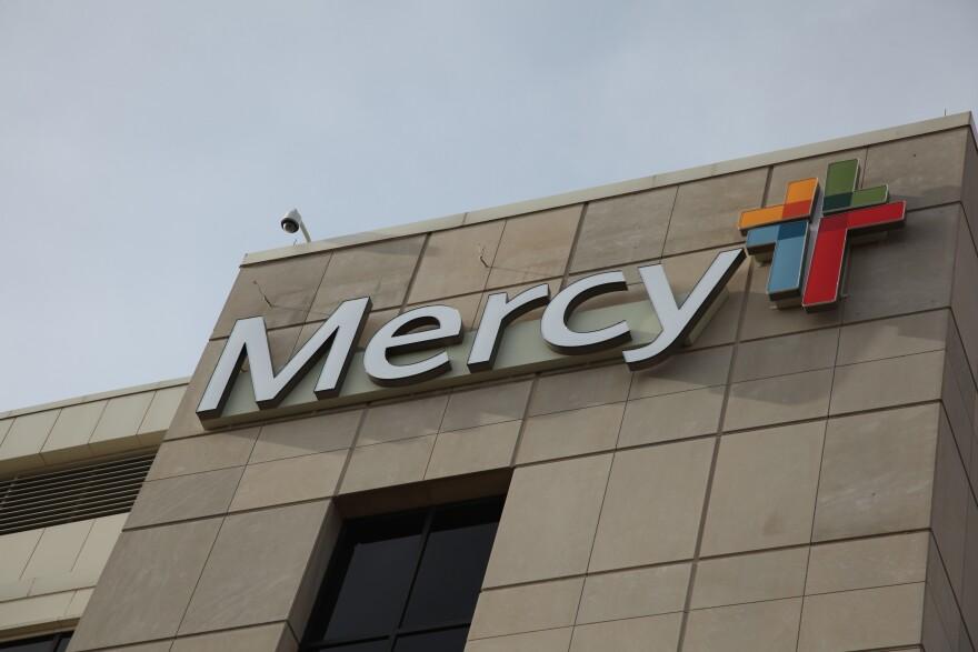 The exterior of Mercy Hospital Springfield.