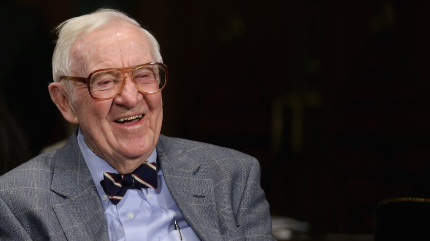 """Former Supreme Court Associate Justice John Paul Stevens, pictured in 2013, has a laundry list of legal changes he'd like to see and thinks """"ultimately each will be adopted."""""""