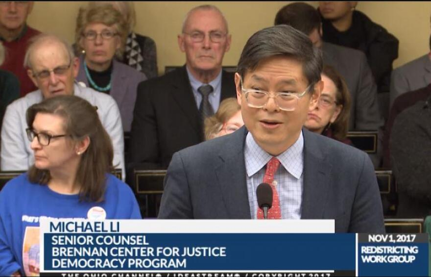Michael Li warned Ohio lawmakers at a hearing last month that data wars in 2021 will dwarf the problems with the current maps.