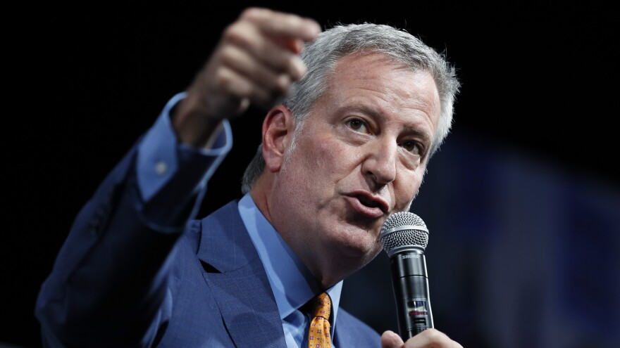 New York City Mayor Bill de Blasio has ended his campaign for the 2020 Democratic presidential nomination.