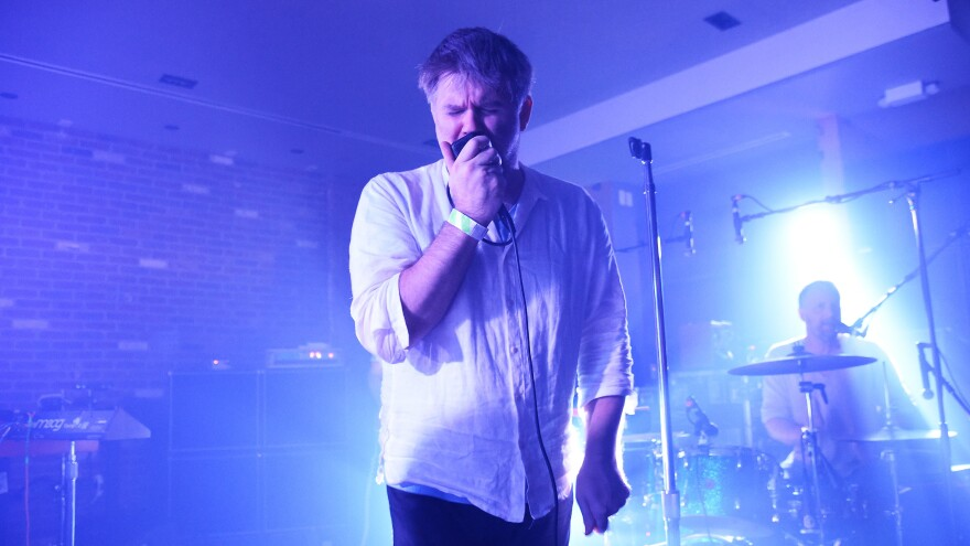 James Murphy of LCD Soundsystem. The band's new album, <em>American Dream</em>, is its first after a six-year hiatus.