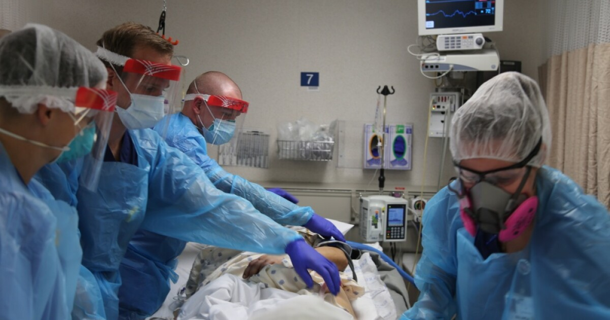 More Texas Hospitals Report 'Critical Staffing Shortages,' ICUs Near Or At Capacity
