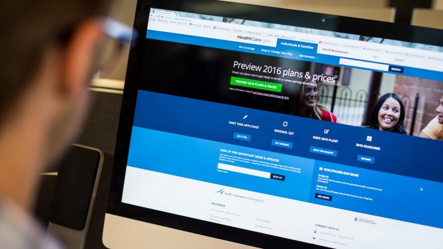 HealthCare.gov plans for 2016 open for enrollment on Sunday.