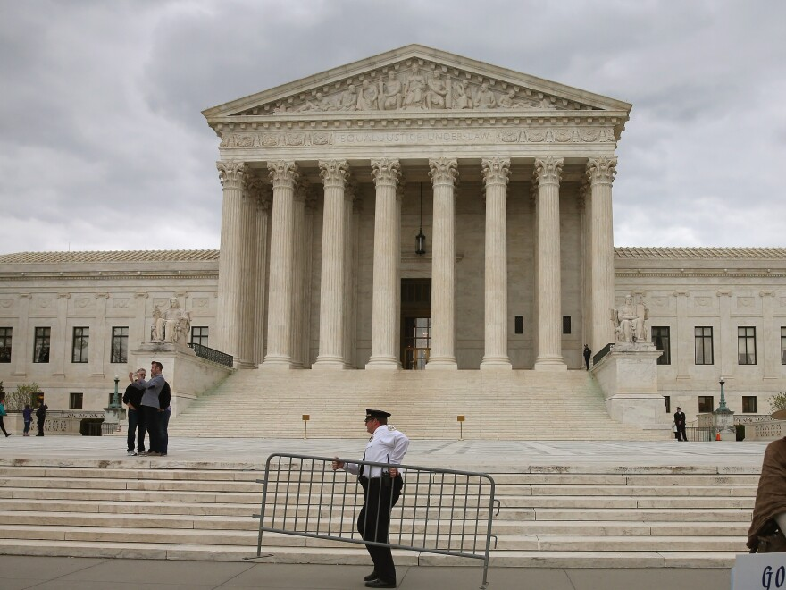 The Supreme Court Monday.