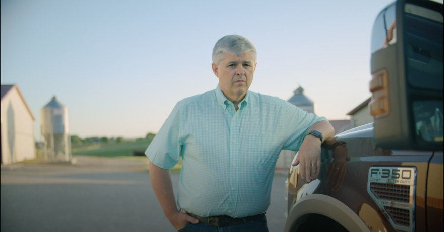 Dr. Kevin Sharrett Poses Next To A Truck During Ohio Department Of Health PSA