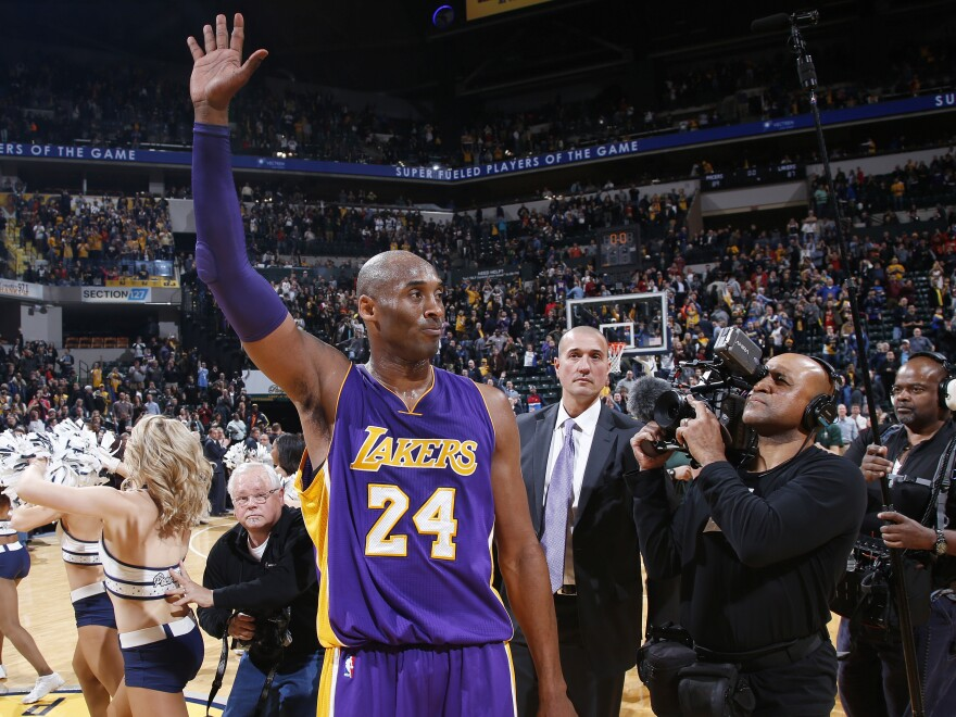 The late Kobe Bryant, shown in 2016, headlines the star-studded Basketball Hall of Fame Class of 2020.
