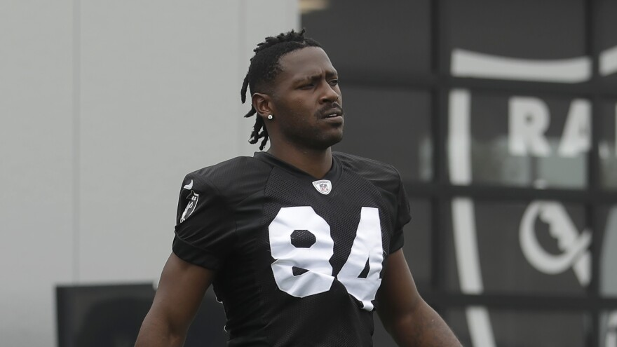 Wide receiver Antonio Brown was sued in federal court by his former trainer who claims Brown sexually assaulted and raped her. As the NFL investigates, the Patriots say they are standing by Brown.
