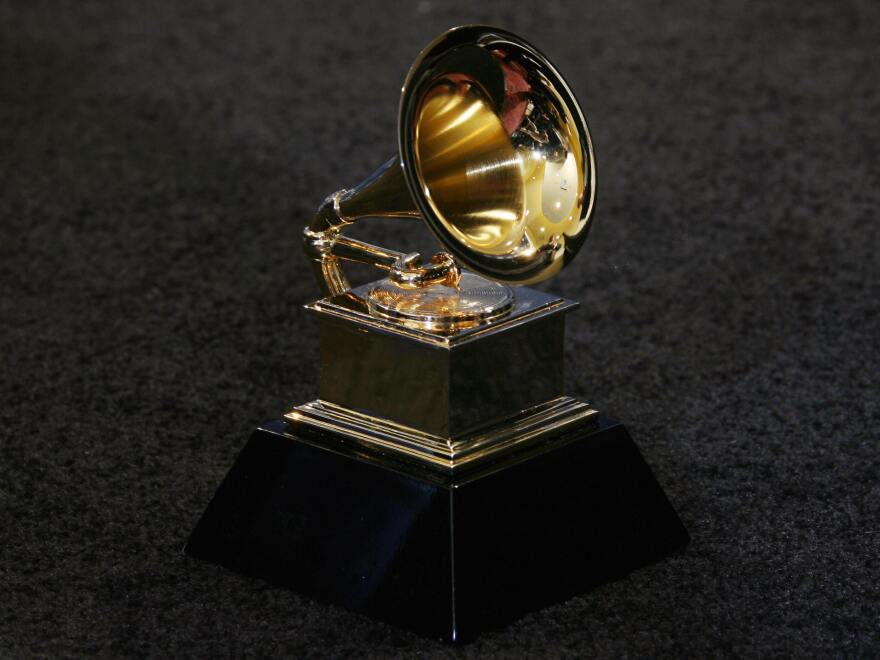 A Grammy Award, photographed in Los Angeles in 2007.