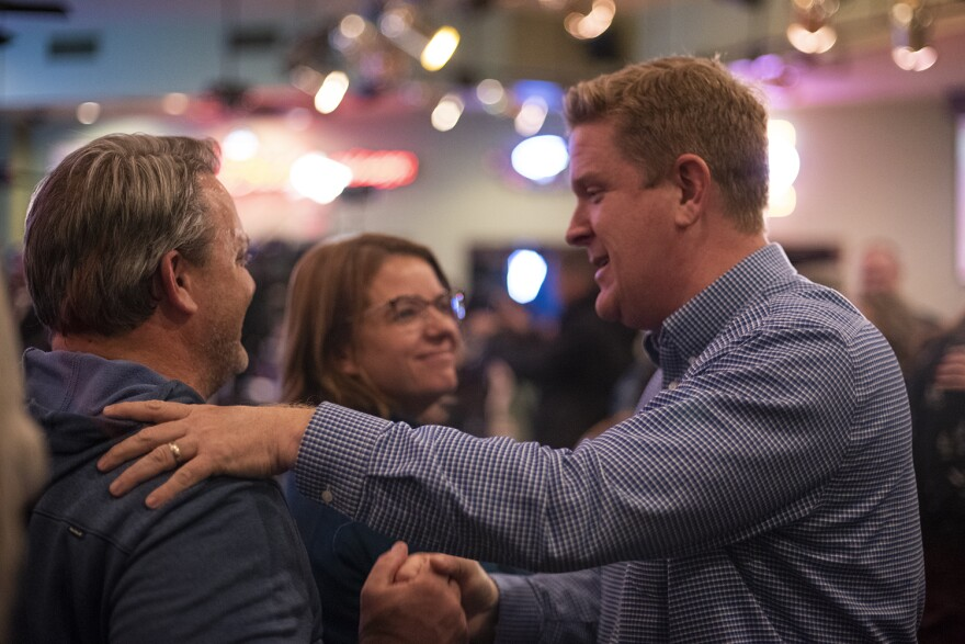 St. Clair County State's Attorney Brendan Kelly lost to Congressman Mike Bost, a rare example where a Democratic candidate fell short in Illinois on Tuesday.
