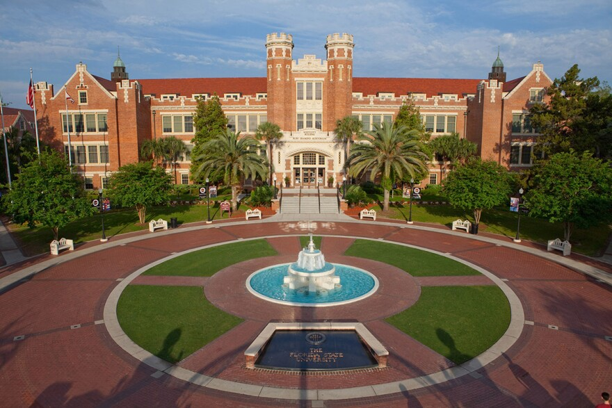 Florida State University is among the state's universities that would have to conduct 'intellectual freedom' surveys, geared toward protecting free speech on campuses, under a bill in the Florida Legislature this session.