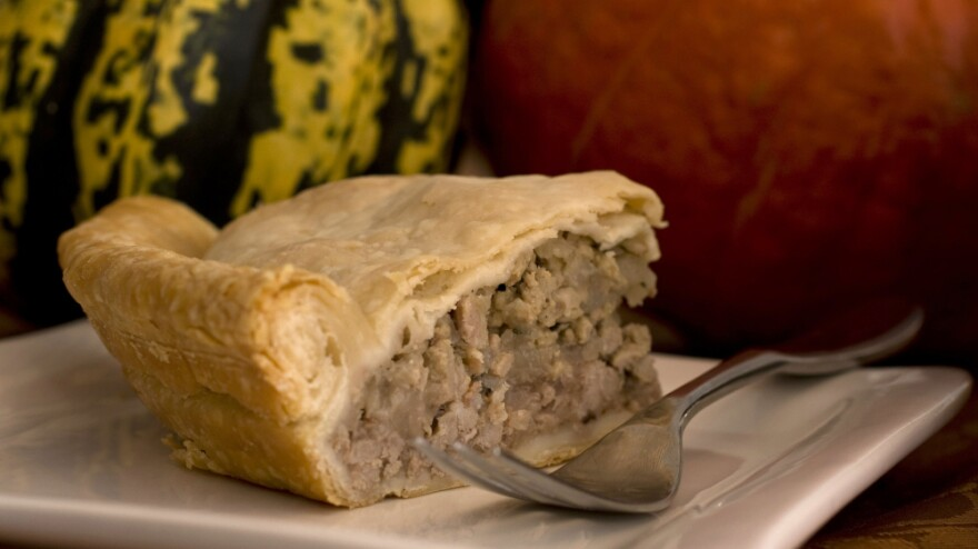 """Tourtiere is """"one of Canada's better contributions to the culinary world,"""" says Thomas Naylor, executive chef to the Canadian ambassador to the U.S."""