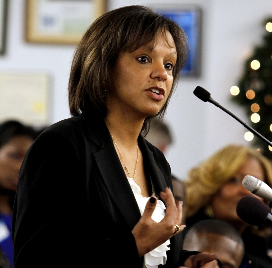 Former Cook County administrator Robin Kelly has been the beneficiary of the Michael Bloomberg-funded superPAC.