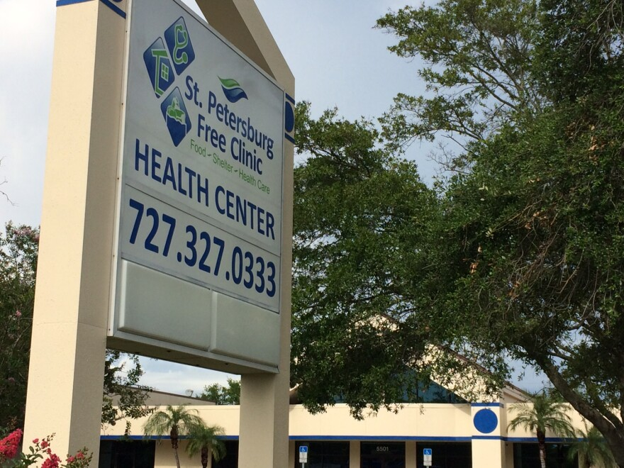 The St. Petersburg Free Clinic opened a new health center at 5501 Fourth St. N.