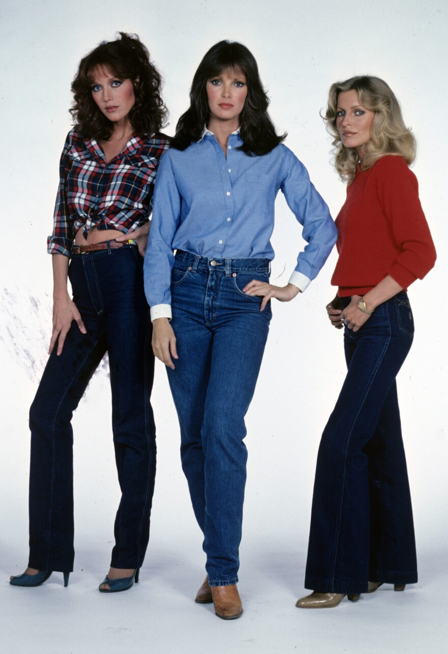 <em>Charlie's Angels</em> Tanya Roberts (Julie), Jaclyn Smith (Kelly) and Cheryl Ladd (Kris) in 1980.