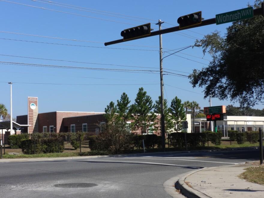 FAMU Developmental Research School at the corner of Orange Ave. and Wahnish Way