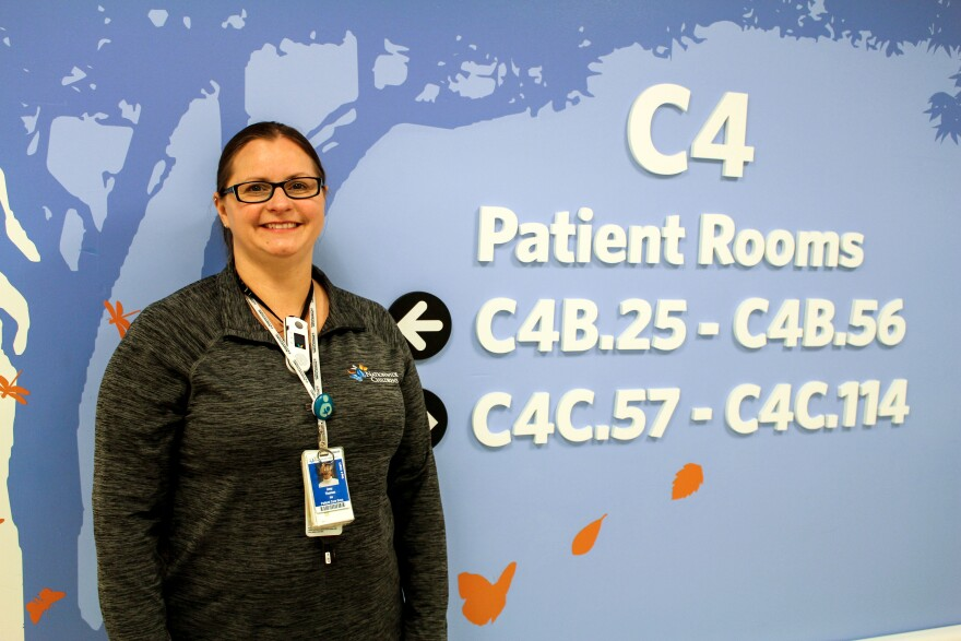 Amy Thomas, R.N., is the NICU administrative clinical leader at Nationwide Children's Hospital in Columbus, Ohio.