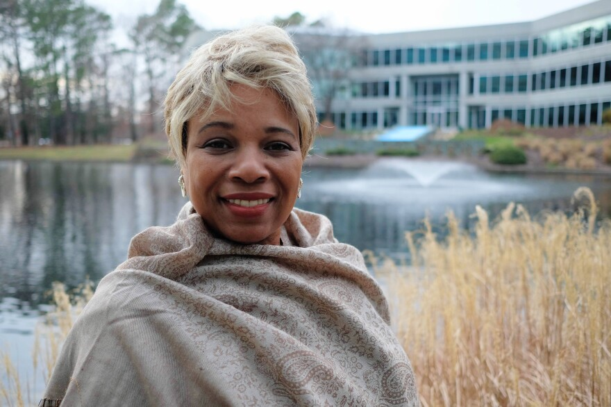 Historian Lauranett Lee teaches at the University of Richmond and works alongside Virginia's first lady, a key backer of the Executive Mansion project.