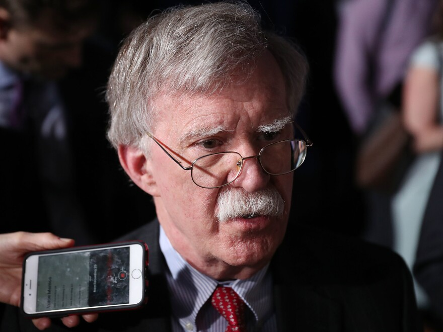 Lawmakers from the House Intelligence, Foreign Affairs and Oversight committees are eager to hear from President Trump's third national security adviser, John Bolton.