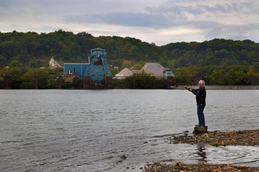 Tim Reddinger, Ohio River, Beaver, Pennsylvania