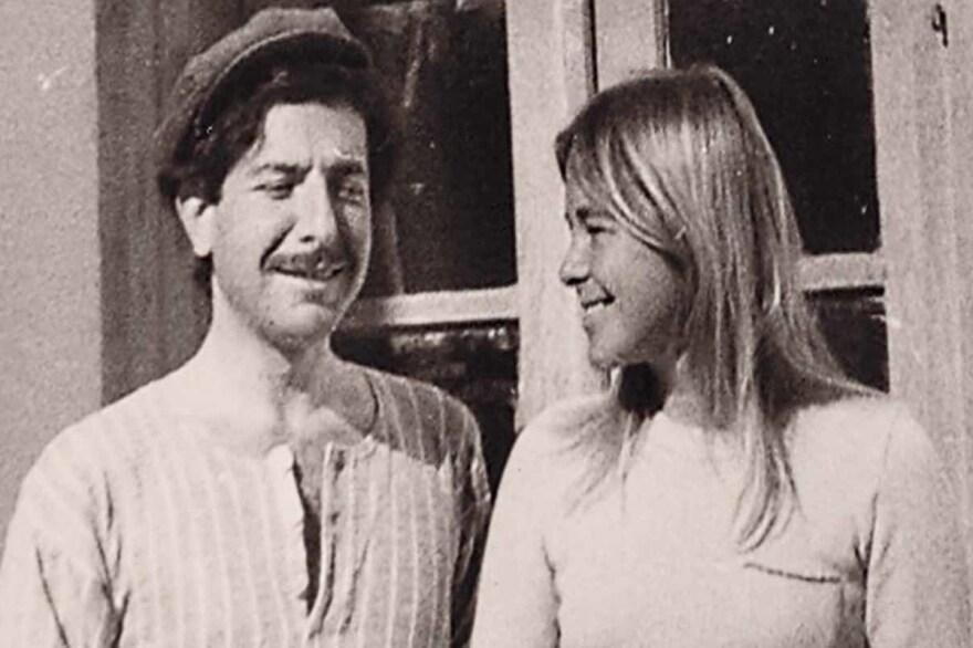 Director Nick Broomfield documents the love story between musician Leonard Cohen and his lover, Marianne Ihlen, in <em>Marianne & Leonard: Words of Love. </em>