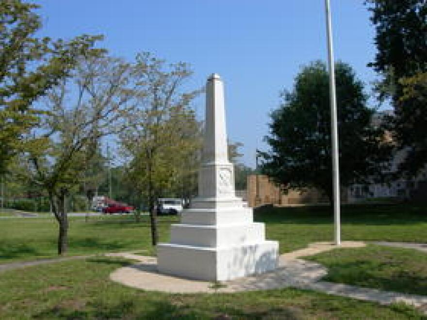 Walton County's Confederate Monument.