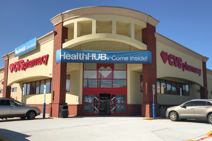 "CVS plans to transform some of its stores into ""health hubs,"" retail locations revamped to include more health care services and products. One of the first is in Spring, Texas, a suburb of Houston."