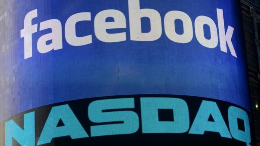Facebook's logo.