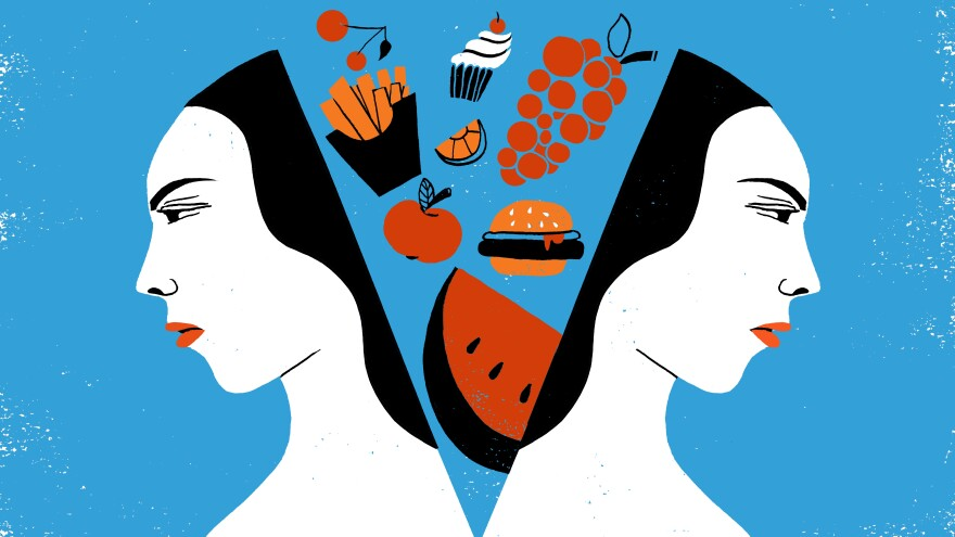 A new study suggests stress can diminish the benefits of more healthful food choices.