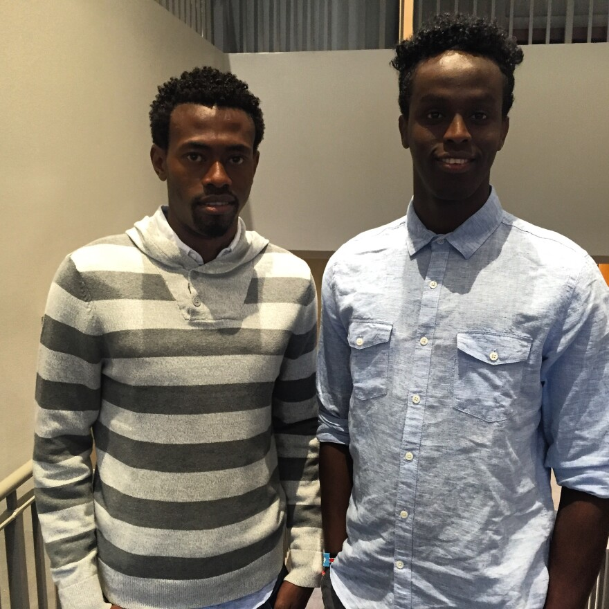 Sa'ad Hussein and Saadiq Mohammed in St. Louis