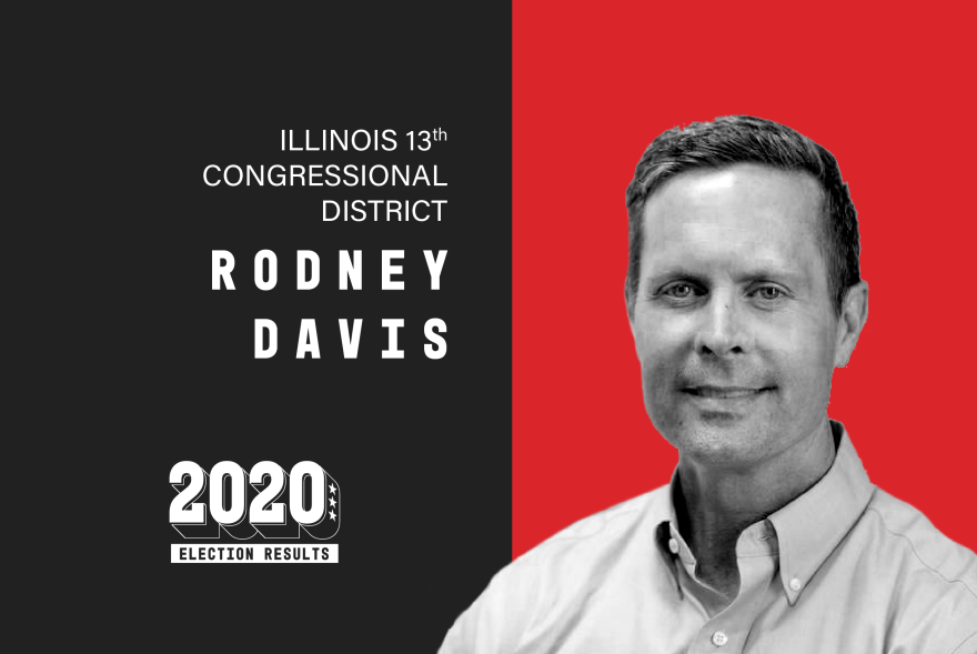 Republican U.S. Rep. Rodney Davis's November 3, 2020 election win against Democrat Betsy Dirksen Londrigan sends him back to Washington for a fifth term in Congress.