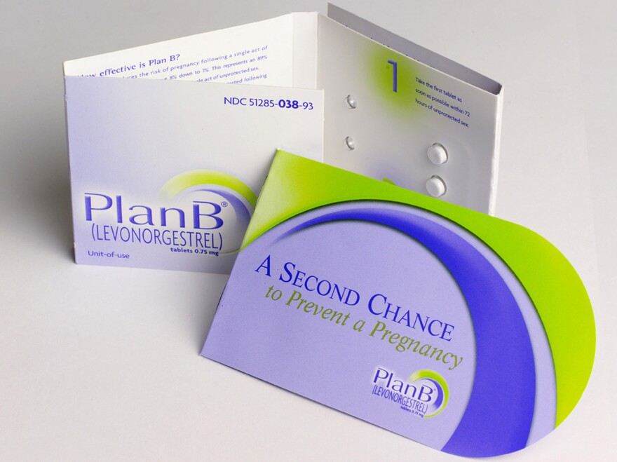 Plan B is one of two emergency contraceptives available in the U.S.