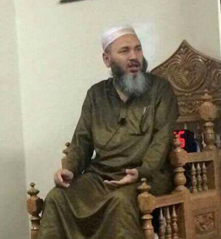 Imam Maulama Akonjee, who died in the fatal shooting on Saturday.