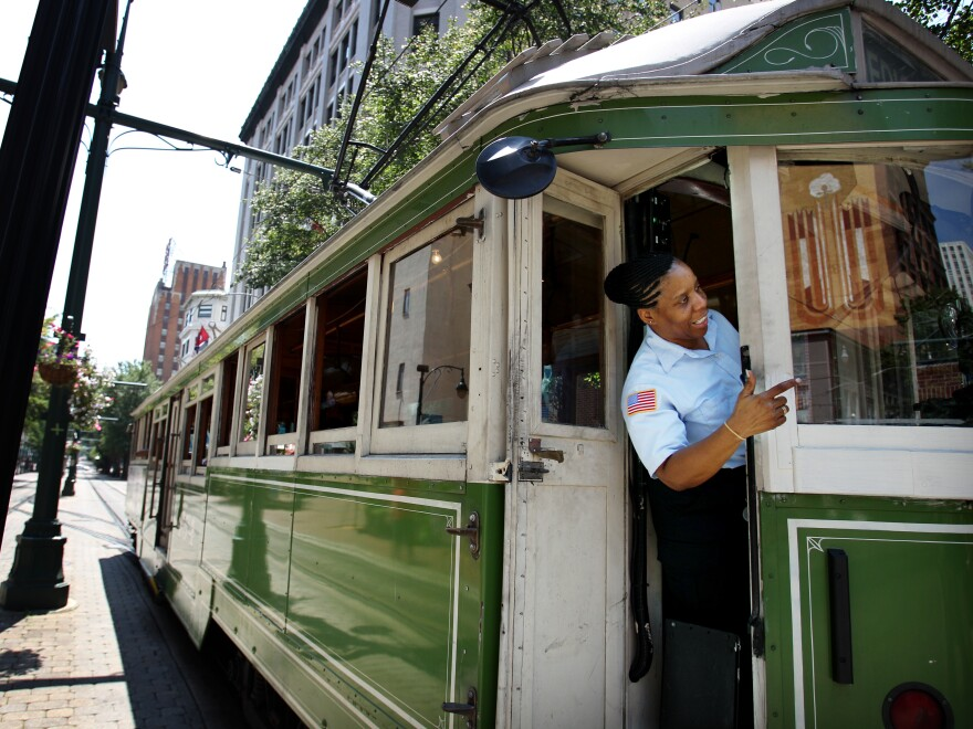 Memphis, Tenn., is among U.S. cities with recently revitalized trolley lines.