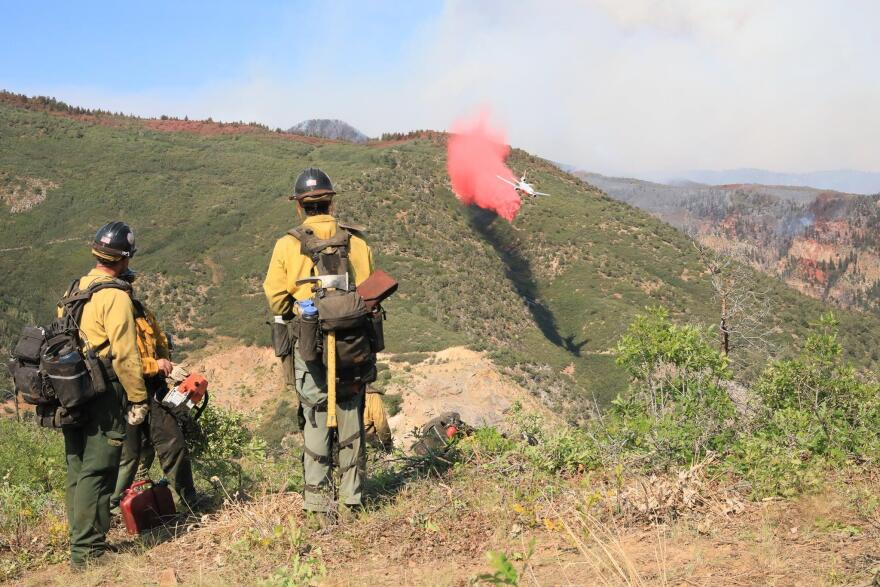 Grizzly Creek Fire