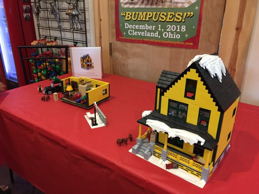 photo of Christmas Story house