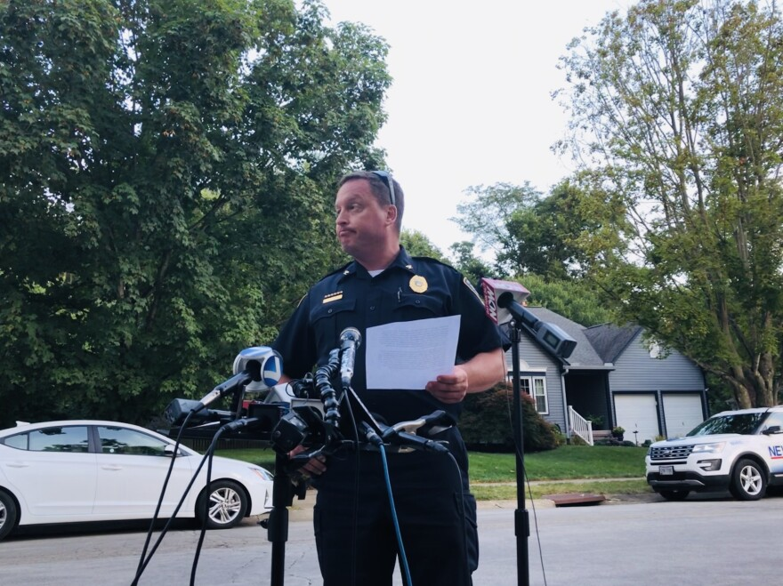 Bellbrook Police Chief, Doug Doherty read the statement issued by the Betts family.