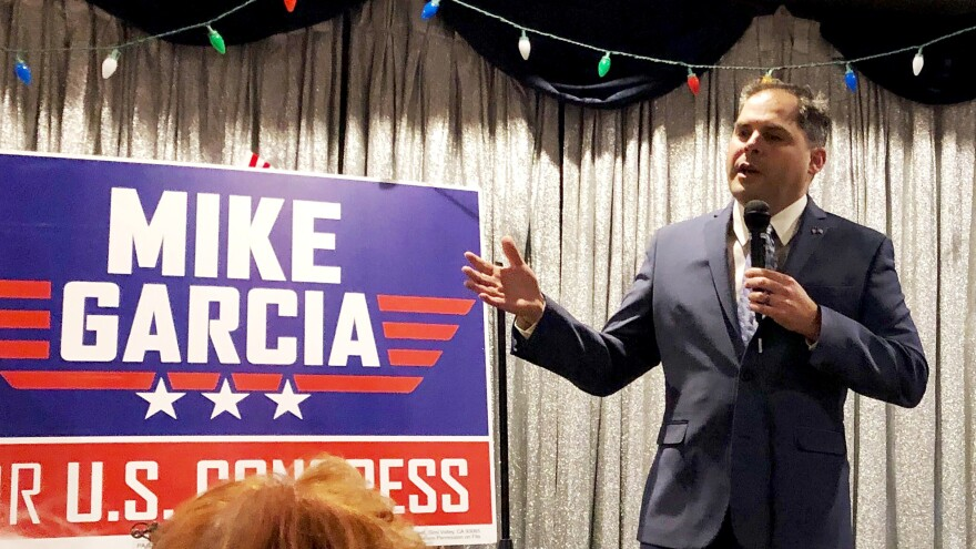 Mike Garcia's win in Tuesday's special election garners him the seat representing California's 25th Congressional District, which he will hold through the end of the year.