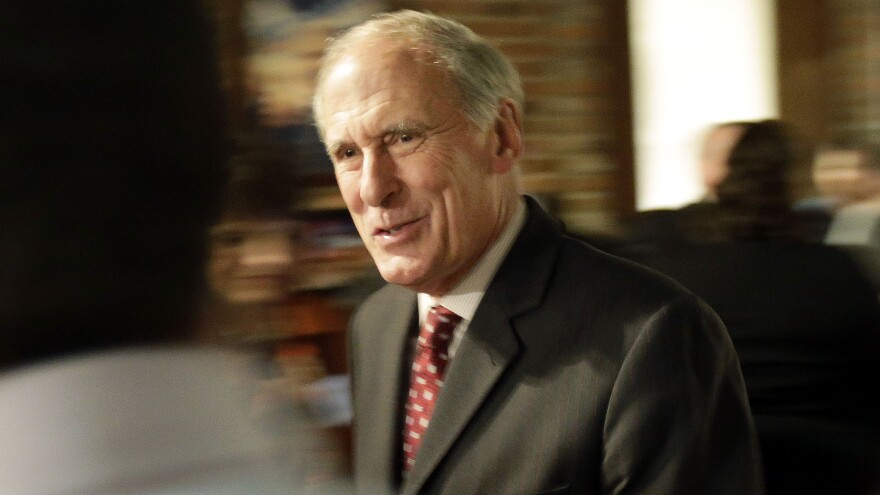 Sen. Dan Coats on midterm election night in 2014.
