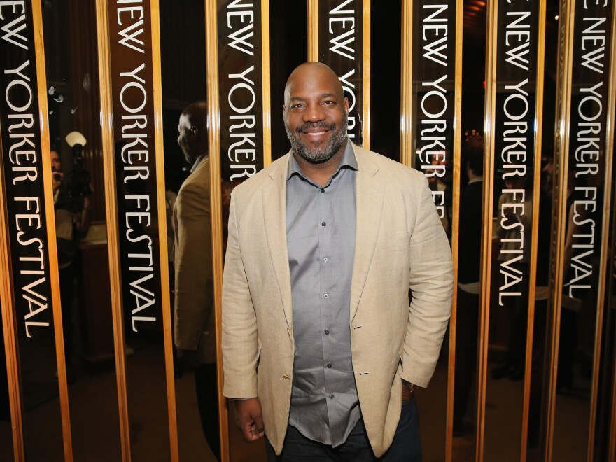William Jelani Cobb attends the 2015 New Yorker Festival Wrap Party in New York City.