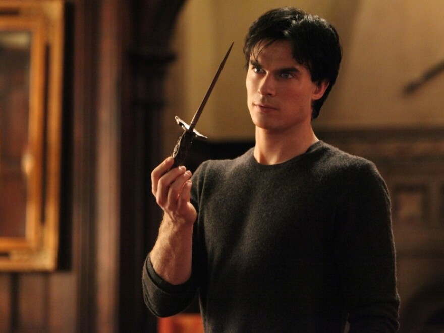 Ian Somerhalder plays the charming and dangerous Damon Salvatore on <em>The Vampire Diaries</em>, a gothic soap opera that shares some similarities with <em>Dark Shadows</em>.