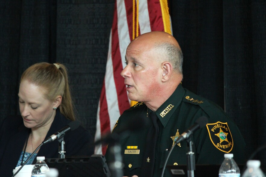 Pinellas County Sheriff Bob Gualtieri is chair of the Marjory Stoneman Douglas High School Public Safety Commission, which met last week at the BB&T Center in Sunrise.